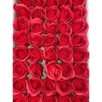 Розы из мыльной пены красные (50 шт.)
