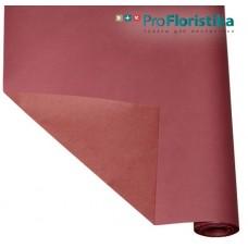 Бумага Крафт двусторонняя розовая/ярко-розовая, 70см, 400гр