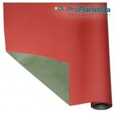 Бумага Крафт двусторонняя красная/зелёная, 70см, 400гр