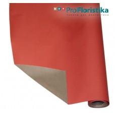 Бумага Крафт двусторонняя красная/светло-коричневая, 70см, 400гр