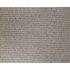 """Бумага Крафт """"Письменность"""" черный, 70 см, 400гр, 70г/м2"""