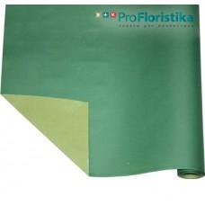 Бумага Крафт двусторонняя зелёная/салатовая, 70см, 400гр