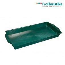 Контейнер под флористическую пену 26 x 15,5 x 2 см зелёный