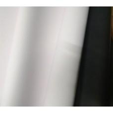 "Плёнка ""Корея"", 60см, 300гр, 50мкм (Белый/Чёрный)"