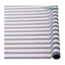 Матовая пленка с горизонтальной полосой фиолетовая, 70см, 200гр, 40мкм (без втулки)