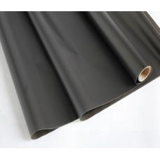 Пленка матовая, 60см, 200гр, 50мкм (002 Чёрный) (без втулки)