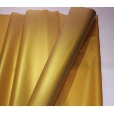 Пленка матовая золотая, 60см, 200гр, 50мкм (Золото) (без втулки)