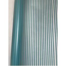Пленка матовая с вертикальной полосой, 60см, 200гр, 50мкм (р3258) (с втулкой)