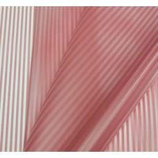 Пленка двусторонне-матовая с вертикальной полосой красная, 70см, 200гр, 40мкм (с втулкой)