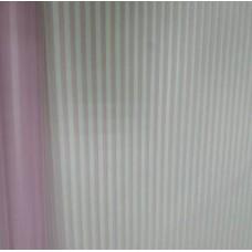 Пленка двусторонне-матовая с вертикальной полосой розовая, 70см, 200гр, 40мкм (с втулкой)