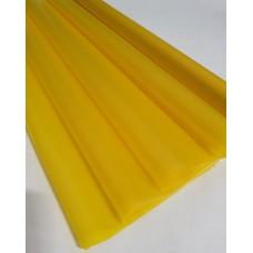 Пленка матовая, 60см, 200гр, 50мкм (Yellow) (без втулки)