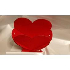 """Ящик для цветов """"Сердце"""" малое"""