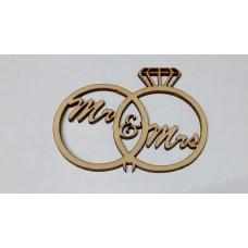 """Топпер """"Mr&Mrs"""""""